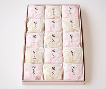 《春限定・森八》桜もなか15個入