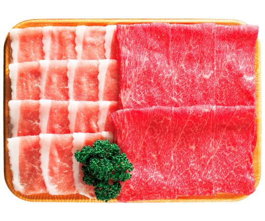 《金沢・天狗中田本店》能登牛・能登豚しゃぶしゃぶ肉セット