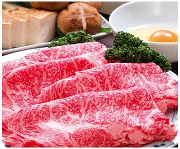《金沢・天狗中田本店》推奨 能登牛すき焼肉