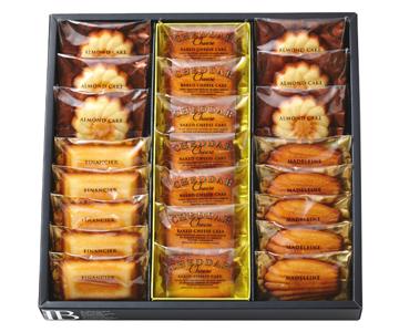 〈モロゾフ〉マドレーヌ・フィナンシェ・ベイクドチーズケーキ(北海道チェダー)・アーモンドケーキ詰合せ