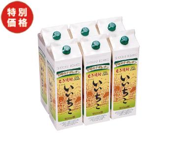 【特価】麦焼酎 いいちこ(1.8ℓ×6パック)