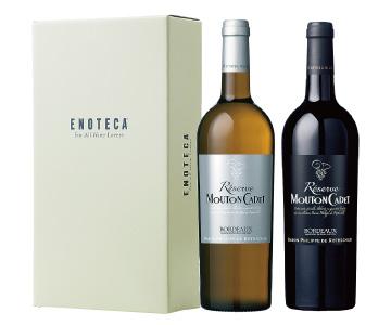 〈エノテカ〉バロン・フィリップ紅白ワインセット