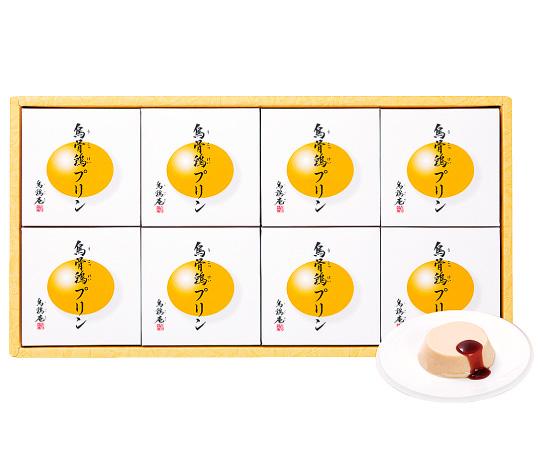 《金沢・烏鶏庵》烏骨鶏プリンセット8個入