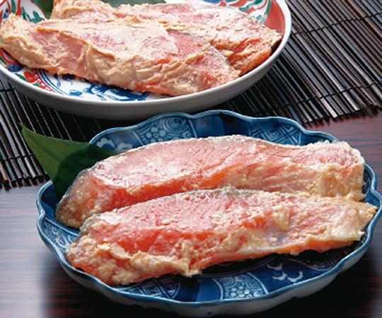 《金沢・十字屋》鮭味噌漬・鮭粕漬詰合せ(AS-30)