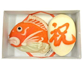 《富山・梅かま》1号鯛祝箱入