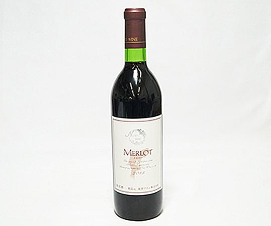《穴水・能登ワイン》赤ワイン2015年 メルロー