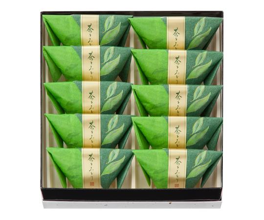 〈菓匠 清閑院〉茶々みどり 10個入