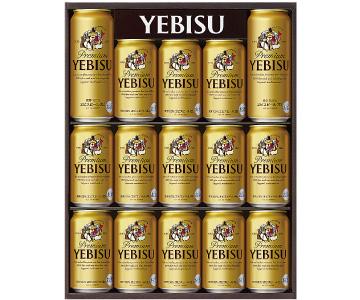 〈サッポロ〉ヱビスビール缶セット//