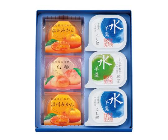 〈文明堂東京〉涼菓あわせ 6個入