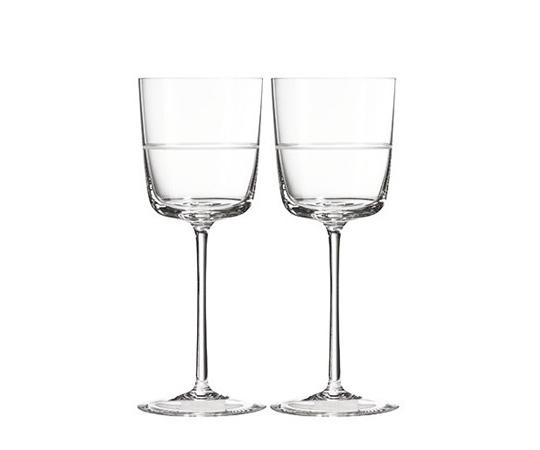 〈ウェッジウッド〉ヴェラ・ウォン クリスタル バンデ ワイン ペア