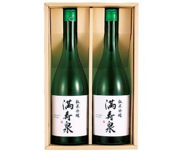 〈富山/桝田酒造店〉満寿泉 純米吟醸2本入