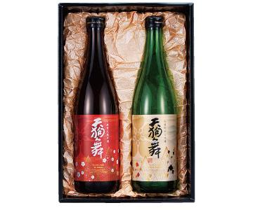 〈白山/車多酒造〉天狗舞 梅鉢ラベルセット