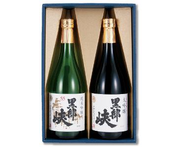 〈朝日/林酒造場〉黒部峡 大吟・純吟セット