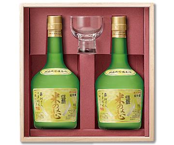 〈黒部/銀盤酒造〉銀盤 超特撰純米大吟醸 米の芯セット