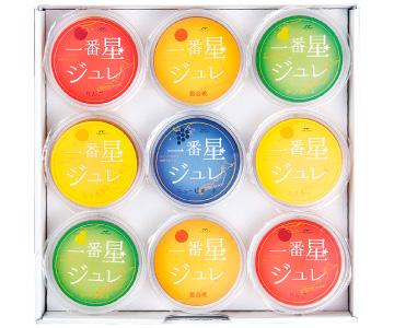 〈石川/フルーツむらはた〉一番星ジュレ 9個詰め