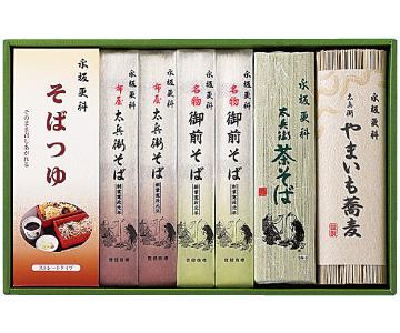 〈東京/永坂更科〉永坂更科蕎麦詰合せ