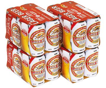 【特価】キリン ラガービール(350ml×24本)