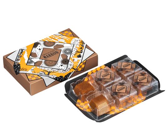 〈資生堂パーラー〉秋のチーズケーキ(マロン) 6個入