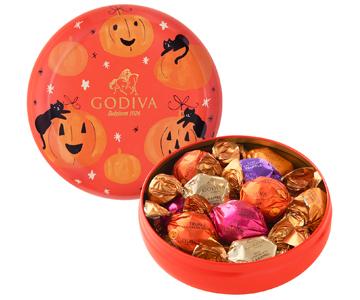 〈ゴディバ〉ラッピングチョコレート ハロウィン アソートメント 14粒入