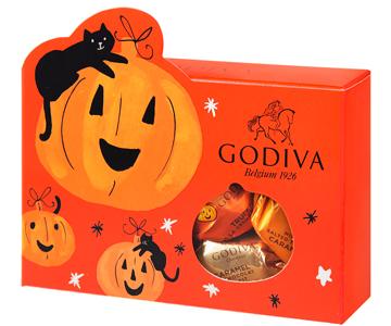 〈ゴディバ〉ラッピングチョコレート ハロウィン アソートメント 7粒入