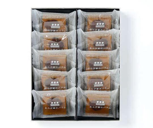 《金沢・まめや金澤萬久》わらび餅のバウムマロン10個入