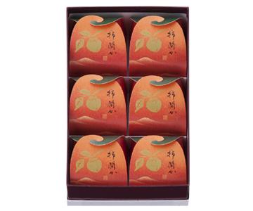 〈菓匠 清閑院〉柿閑か 6個入