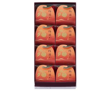 〈菓匠 清閑院〉柿閑か 8個入