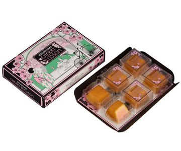 〈資生堂パーラー〉春のチーズケーキ(さくら味) 6個入