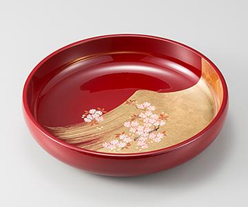 《金箔 箔一》姫さくら 菓子鉢